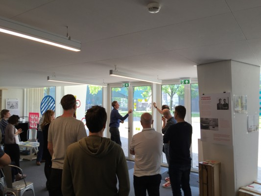 Presenting ideas for the ideal creative hub