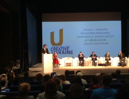 The 1st Forum Creative Ukraine – A Great Step towards Creative Industries in Europe