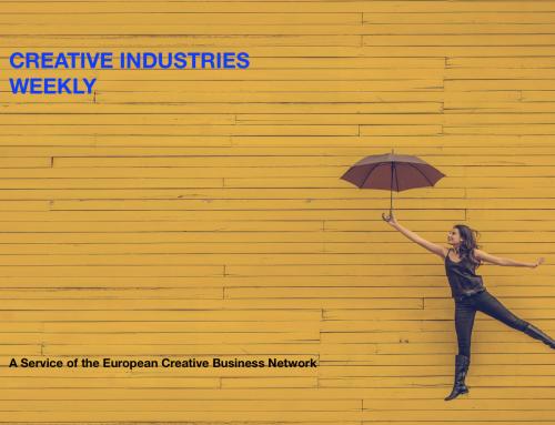 Creative Industries Weekly, Dec 11 – 15 2017