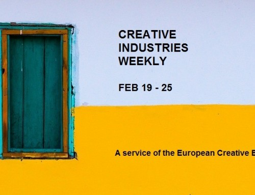 Creative Industries Weekly, Feb 19 – 25 2018
