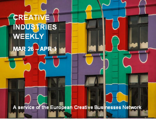 Creative Industries Weekly, March 26 – 1 April