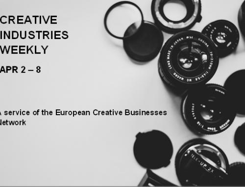 Creative Industries Weekly, April 2 – 8