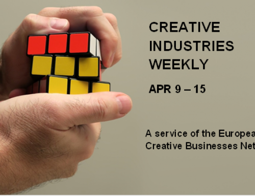 Creative Industries Weekly, April 9 – 15
