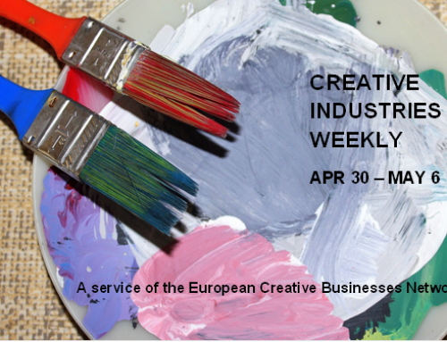 Creative Industries Weekly, April 30 – May 6