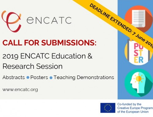CALL FOR SUBMISSIONS: 2019 ENCATC Education and Research Session