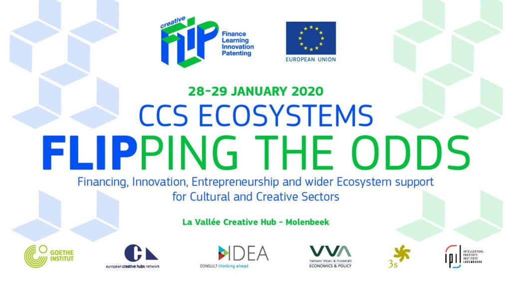"Creative FLIP announces the ""CCS Ecosystems: FLIPPING THE ODDS"" Conference"