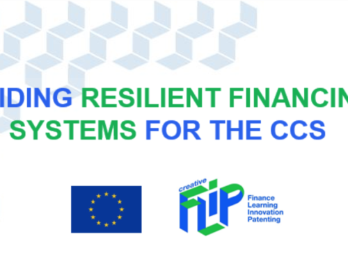CCIs @Coronacrisis Update #158 – Report: Guiding resilient financing systems for the CCS – Creative FLIP publishes analysis report