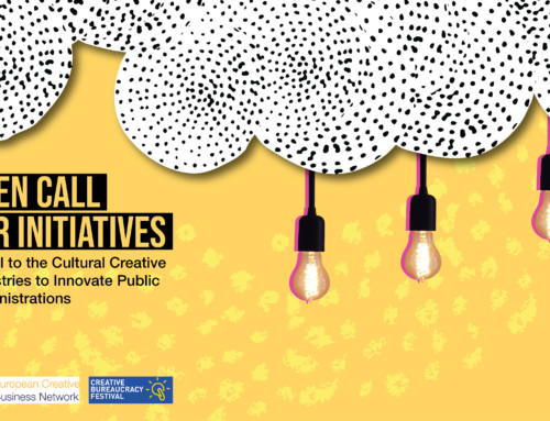 OPEN CALL for initiatives – A Call to the Cultural Creative Industries to Innovate Public Administrations